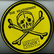Front View : The Weathermen - LONG LOST LIVE INSTRUMENTAL BACKING TAPES: POISON! (PICTURE DISC+MP3) - WOOL-E DISC / WED032V