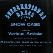 Front View : Harmonious Thelonious - INTERNATIONAL DANCE RECORD 2 - Italic / ITA113