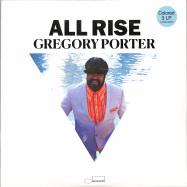 Front View : Gregory Porter - ALL RISE (LTD BLUE 3LP) - Blue Note / 0862015