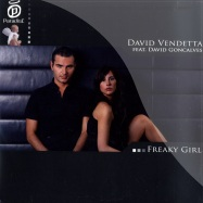 Front View : David Vendetta ft David Goncalves - FREAKY GIRL - Paradise073