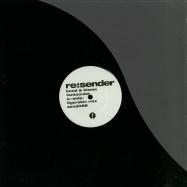 Front View : Bond & Blome - TENTACULAR REMIXES - Sender Records / Sender088