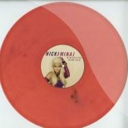 Front View : Nicki Minaj - STARSHIPS - REMIXES (PINK MARBLED VINYL) - nickistar002
