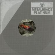 Front View : Benny L - ROUTE ZERO EP - Metal Headz Platinum / methpla024