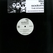 Front View : Life In Sodom - THE STAINS (ALESSANDRO ADRIANI REMIX) - Mannequin / MNQ 098