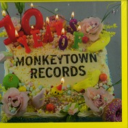 Front View : Various Artists - 10 YEARS OF MONKEYTOWN (CD) - Monkeytown / MTR100CD