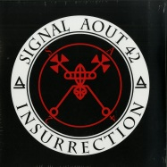 Front View : Signal Aout 42 - INSURRECTION (RED & WHITE 2LP + CD) - Out Of Line Music / OUT10031004