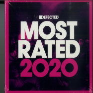 Front View : Various Artists - DEFECTED PRESENTS MOST RATED 2020(3XCD, UNMIXED) - Defected / Rated31CD