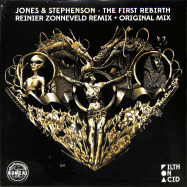 Front View : Jones & Stephenson - THE FIRST REBIRTH (REINIER ZONNEVELD REMIX)(YELLOW COLOURED VINYL) - BONZAI VINYL / BV2020013