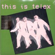 Front View : Telex - THIS IS TELEX (2LP, PINK+GREEN COLOURED VINYL) - Mute / LMUTEL30