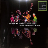 Front View : The Rolling Stones - A BIGGER BANG,LIVE IN RIO 2006 (3LP) - Mercury / 3578302