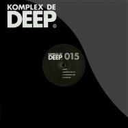 Front View : Aubrey - HARLEQUIN OPAL EP - Komplex De Deep / KDD015