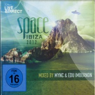 Front View : Various Artists (mixed by Mync & Edu Ibernon) - SPACE IBIZA 2012 (2XCD + DVD) - CR2 Records / CDC2LD0342