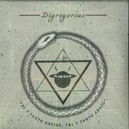 Front View : Digregorious - TAL Y TANTO ARRIBA, TAL Y TANTO ABAJO (4X12 INCH / VINYL ONLY) - My Own Jupiter / MOJ 04
