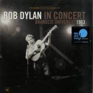 Front View : Bob Dylan in Concert - BRANDEIS UNIVERSITY 1963 (180G LP + MP3) - Columbia / 88985438261