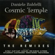 Front View : Daniele Baldelli - COSMIC TEMPLE - THE REMIXES (2LP, VINYL) - Mondo Groove / MGLP 107/8