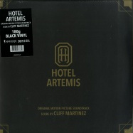 Front View : Cliff Martinez - HOTEL ARTEMIS O.S.T. (180G 2LP) - Invada Records / LSINV210LP / 39146111