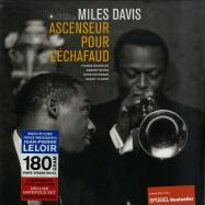 Front View : Miles Davis - ASCENSEUR POUR L ECHAFAUD (180G LP) - Jazz Images / 1024800EL1