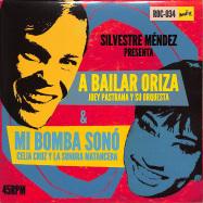 Front View : Celia Cruz con la Sonora Matancera & Joey Pastrana - MI BOMBA SONO / A BAILAR ORIZA (7INCH) - Rocafort Records / ROC034