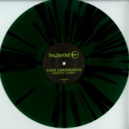 Front View : Cari Lekebusch - GREEN LIGHT (GREEN / BLACK SPLATTER VINYL) - H-Productions / HYB030