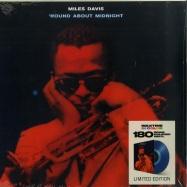 Front View : Miles Davis - ROUND ABOUT MIDNIGHT (LTD BLUE 180G LP) - Waxtime in Color / 950667 / 8818386