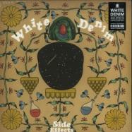 Front View : White Denim - SIDE EFFECTS (LTD CLEAR LP) - City Slang / SLANG50208X