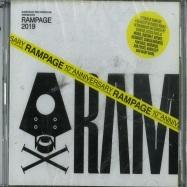 Front View : Various Artist - RAMPAGE 2019 (2xCD) - Rampage / RMPG010CD