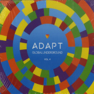 Front View : Various Artists - Global Underground: Adapt #4 (CD, MIXED) - Global Underground / 9029683421