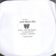 Front View : Bcee / Cinematic - GLITTER BALLS (REDEYES & LENZMAN RMX) - Future Retro / retro009