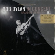 Front View : Bob Dylan in Concert - BRANDEIS UNIVERSITY 1963 (180G LP + DL-CODE) - Music on Vinyl / movlp286