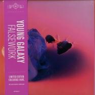 Front View : Young Galaxy - FALSEWORK (COLOURED VINYL) - Paper Bag / paper101lp