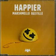 Front View : Bastille Marshmello - HAPPIER (2-TRACK-MAXI-CD) - Universal / 7726675