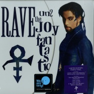 Front View : Prince - RAVE UN2 THE JOY FANTASTIC (LTD PURPLE 2LP + MP3) - Legacy / 19075913981