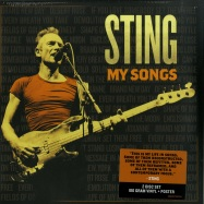 Front View : Sting - MY SONGS (180G 2LP + POSTER) - A & M Records / 7758721