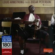 Front View : Louis Armstrong & Oscar Peterson - LOUIS ARMSTRONG MEETS OSCAR PETERSON (180G LP) - Jazz Images / 1083078EL1