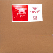 Front View : Rheji Burrell Pres: The Utopia Project - THE V EP - Running Back / RB091