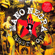 Front View : Mano Negra - BEST OF ... FIRST VINYL EDITION (2LP) - Because Music / BEC5676459