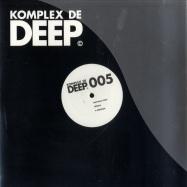 Front View : Matthias Vogt - HOFATS - Komplex De Deep / kdd005