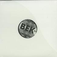 Front View : Gary Beck - RASCAL EP (BLACK 2015 REPRESS) - Bek Audio / BEK015