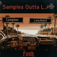 SAMPLES OUTTA L.A. - FUNK (LTD RED VINYL LP + MP3)