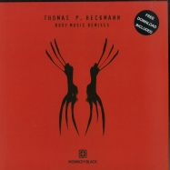 Front View : Thomas P. Heckmann - BODY MUSIC REMIXES (RED & BLACK MARBLED VINYL + MP3) - Monnom Black / MONNOM016