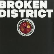 Front View : Various Artists - BROKEN DISTRICT 03 - Broken District / BKD003