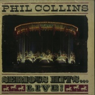 Front View : Phil Collins - SERIOUS HITS ... LIVE! (REMASTERED 2LP) - Rhino / 8889840