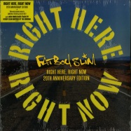 Front View : Fatboy Slim - RIGHT HERE RIGHT NOW (YELLOW VINYL) - Skint / 4050538455427