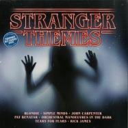 Front View : Various Artists - STRANGER THEMES (LTD BLUE LP) - Universal 7 5382178 / 8189247