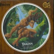 Front View : Phil Collins / Mark Mancina - TARZAN O.S.T. (PICTURE DISC LP) - Walt Disney Records / 8740982