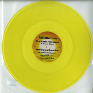 Front View : Rockers Revenge ft Donnie Calvin - WALKING ON SUNSHINE (YELLOW COLOURED VINYL) - Full Intention Records / FI026V