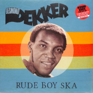 Front View : Desmond Dekker - RUDE BOY SKA (RED 180G LP) - Burning Sounds / BSRLP902