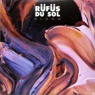 Front View : Rufus Du Sol - BLOOM (2LP, BLACK VINYL) - Sweat It Out / SWEATSV007