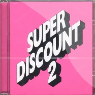 Front View : Etienne De Crecy - SUPERDISCOUNT 2 (CD) - Different / DIFB 1030 cd