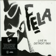 LIVE IN DETROIT 1986 (2XCD)